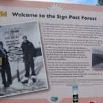 History Of Sign Post Forest