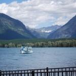 Sightseeing on Lake McDonald