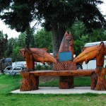 Bench At Visitor Center, Soldotna