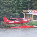 One Of Many Float Planes On This Lake