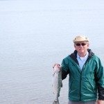 Silver Salmon Catch