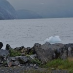 Glacial Ice Near Portage