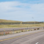 Wind Blocks Along I-90 Wyoming
